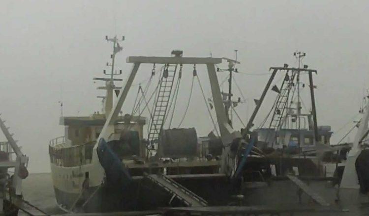 peschrecci fermi in porto - maltempo